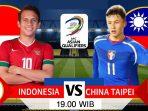 PREVIEW INDONESIA VS TAIPEI, INI FAKTOR KEUNGGULAN TIMNAS GARUDA 2