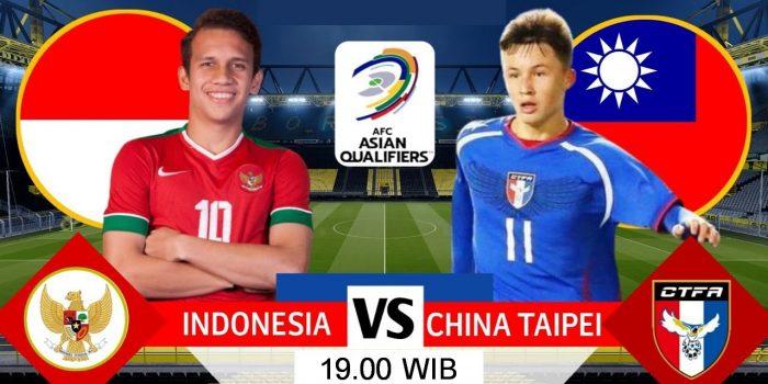 PREVIEW INDONESIA VS TAIPEI, INI FAKTOR KEUNGGULAN TIMNAS GARUDA 6